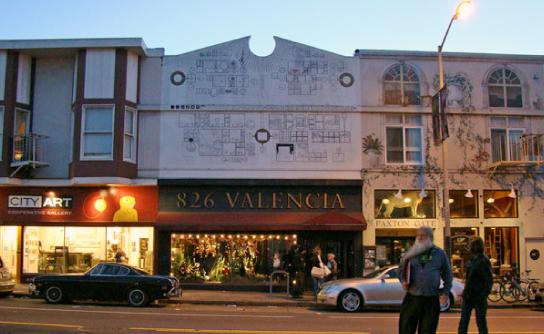 Photo via 826 Valencia