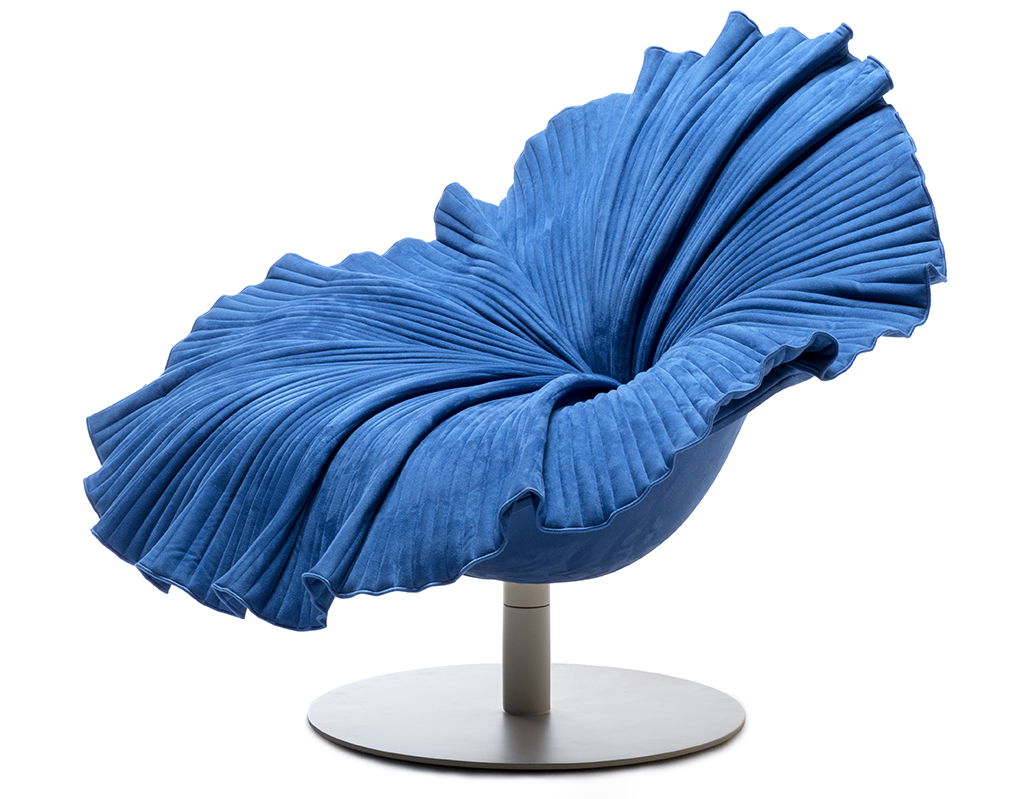 Bloom Easy Armchair by Kenneth Cobonpue. As seen on Wescover.