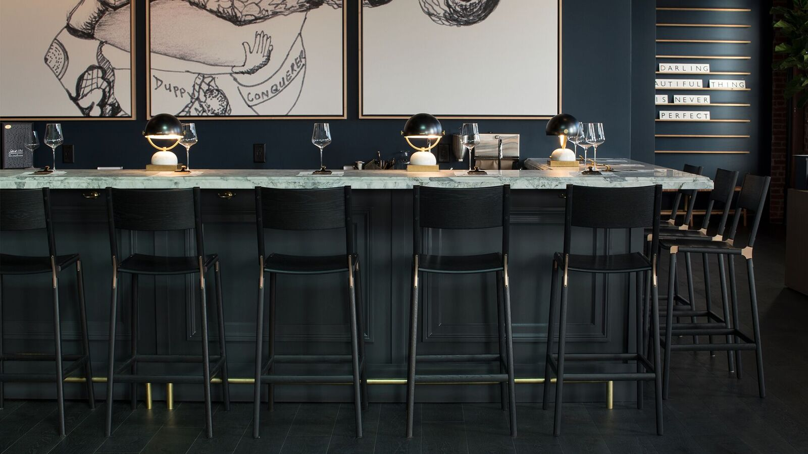Stanyan Bar Stools by Fyrn. As seen on Wescover.