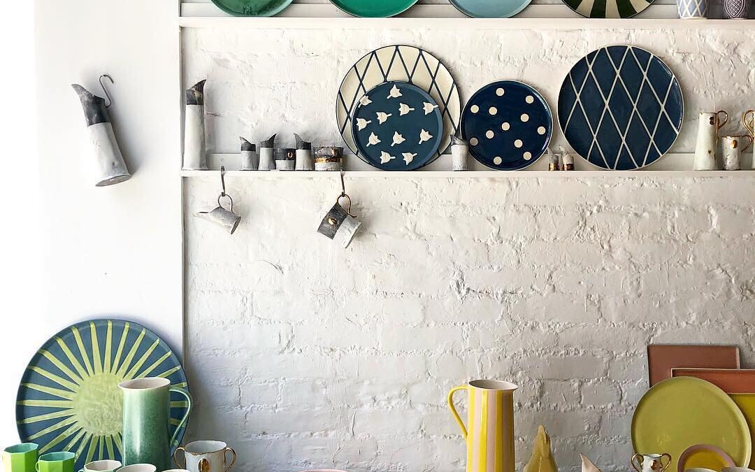Beautiful Porcelain Find: Santimetre Studio