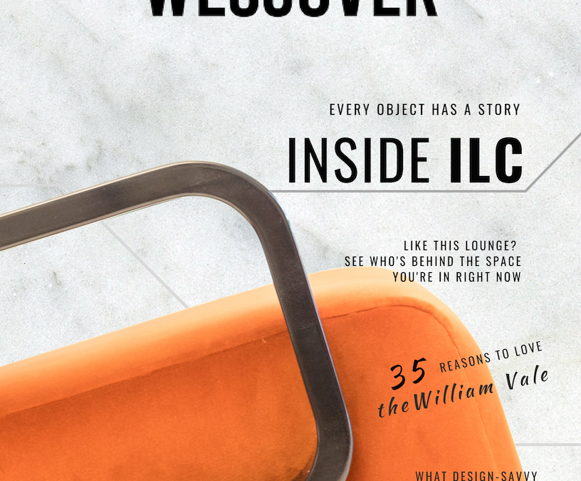 See our Digital Magazine! Inside ILC: 18 Designers Chosen to Showcase for 300+ Hotel Leaders