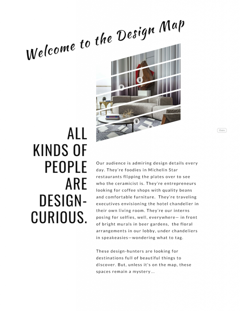 All kinds of people are design curious.