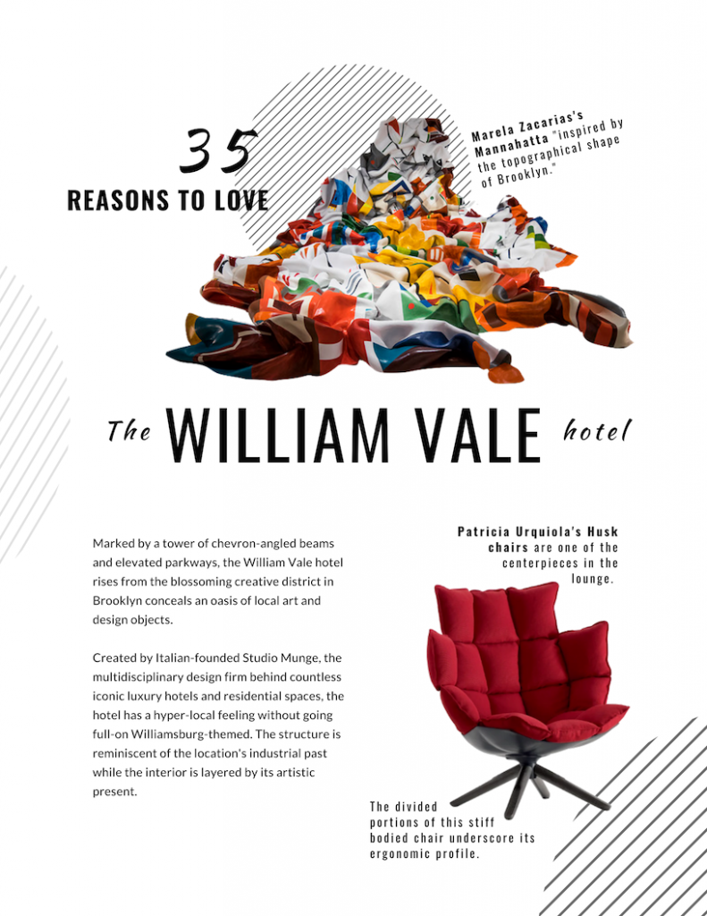 35 Reasons to Love the William Vale Hotel