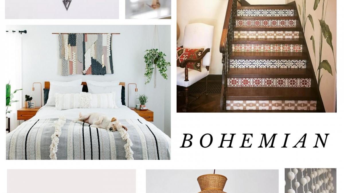 Jenna's Bohemian Mood Board