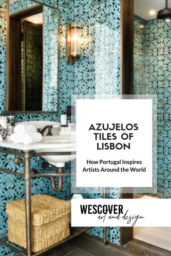 Lisbon's Ceramic Tiles. A Wescover feature.