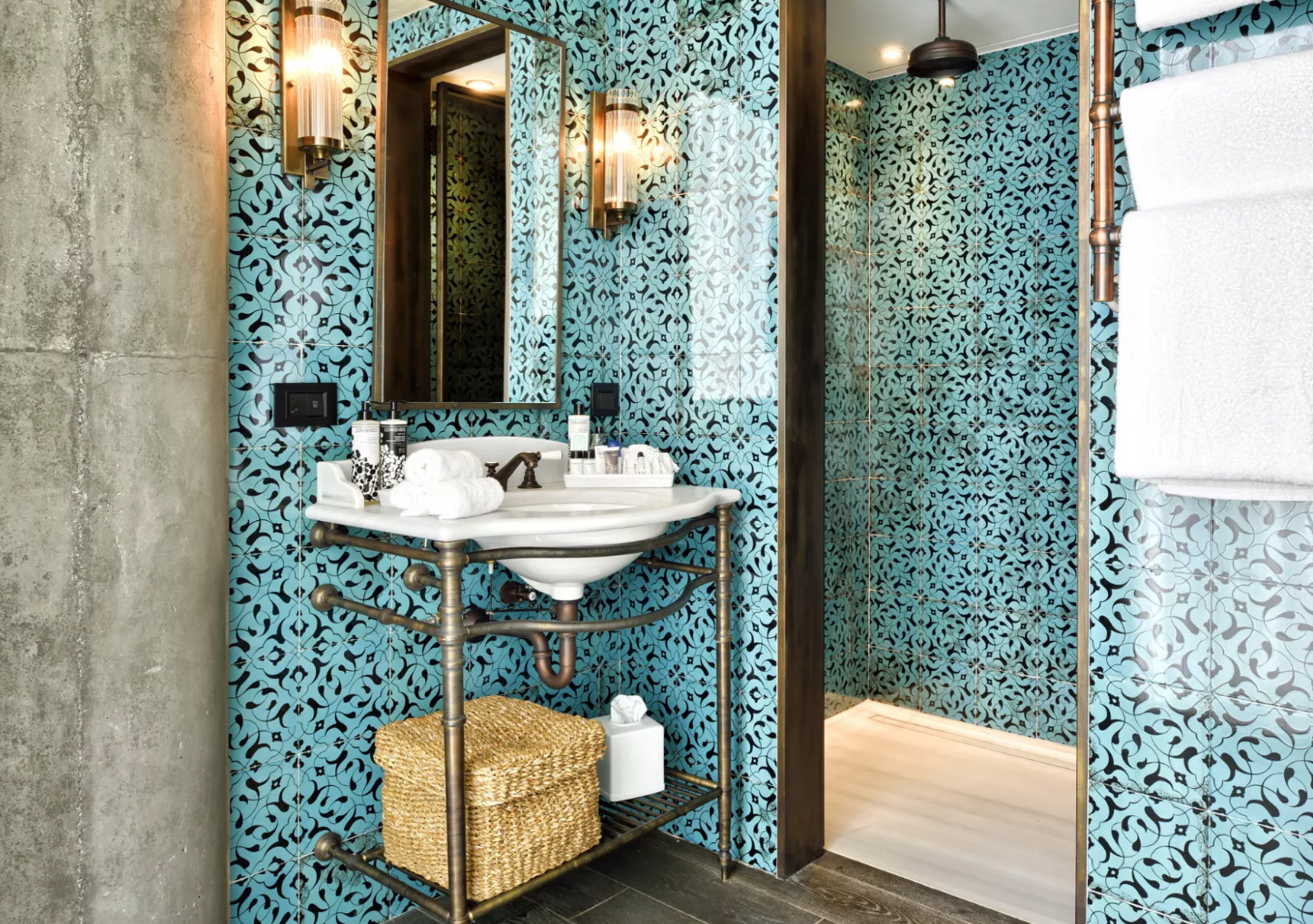 Soho House Tiles by Otto Tiles And Design, seen at Soho House Istanbul on Wescover