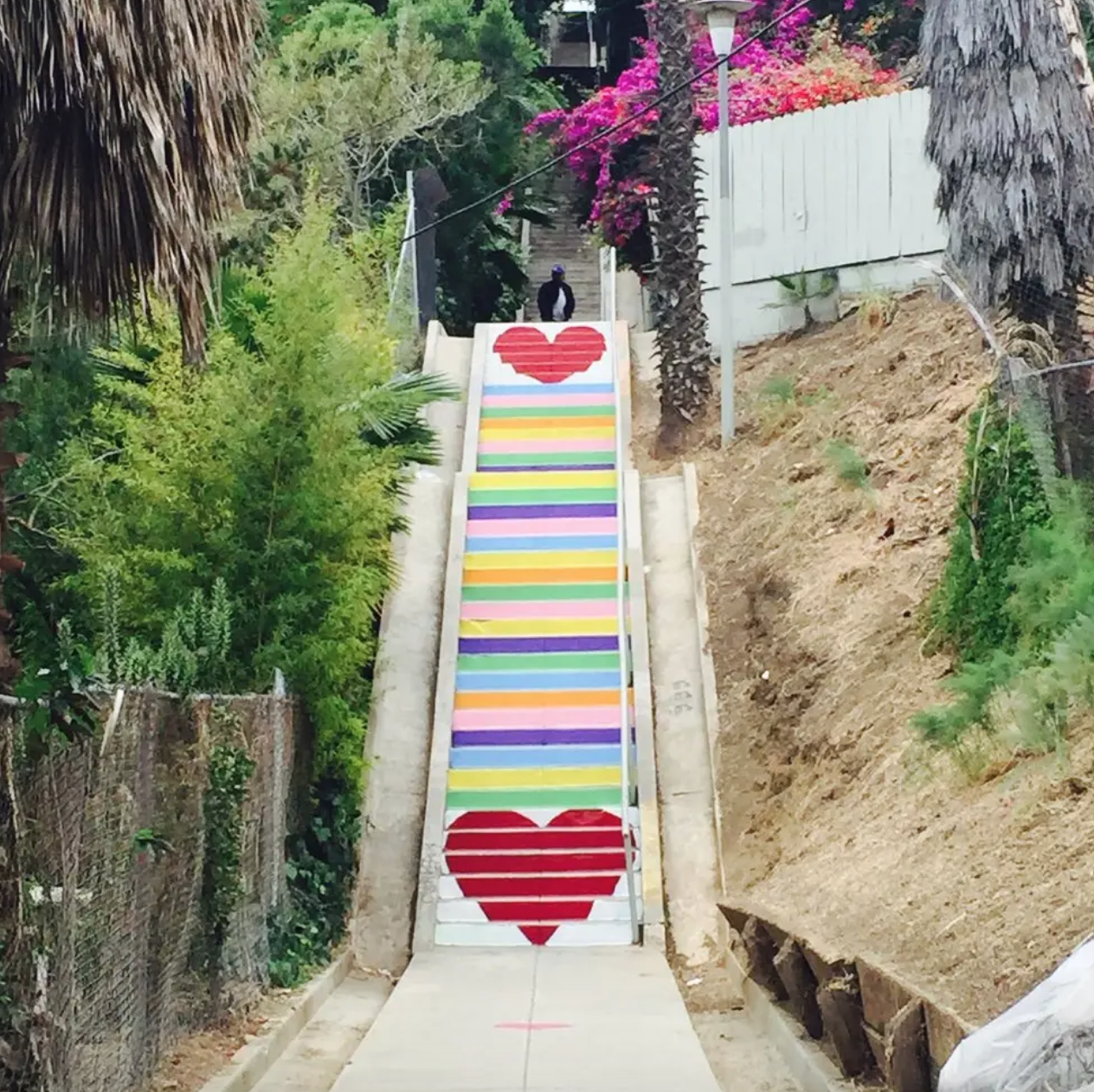Stair Candy by Carla O'Brien in Silverlake, Los Angeles, as seen on Wescover.