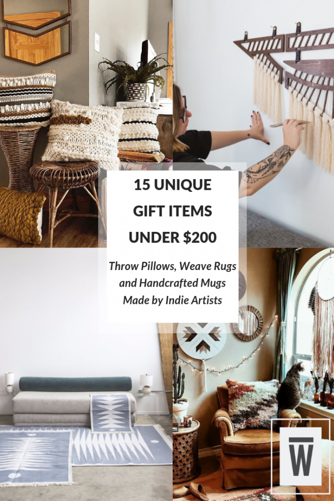 15 Unique Gift Items for under $200. A Wescover listicle.
