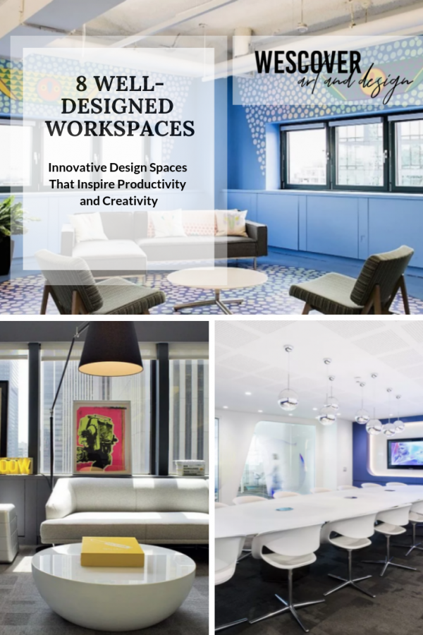 8 Innovative Design Spaces That Inspire Productivity and Creativity. A Wescover listicle.