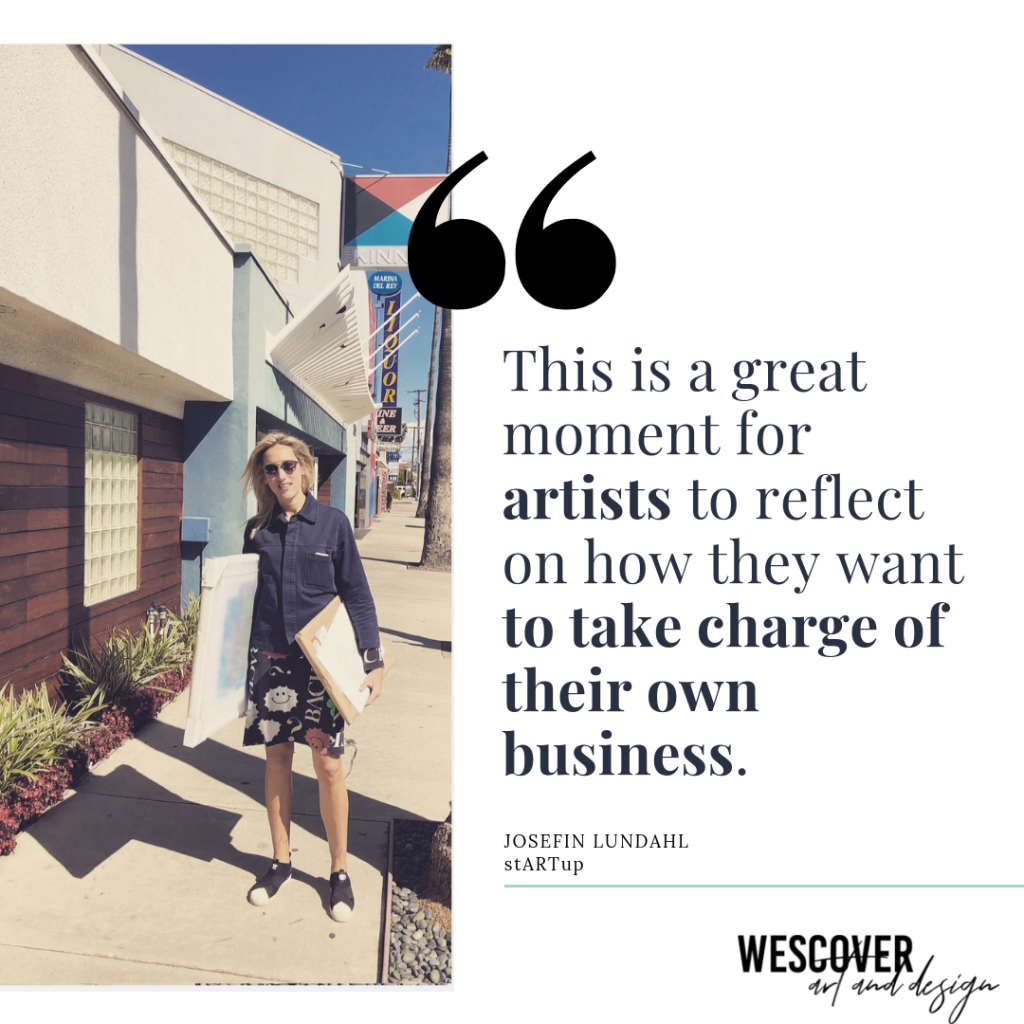 This is a great moment for artists to reflect on how they want to take charge of their own business.