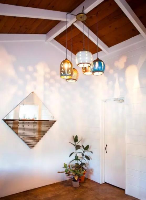 Ceramic Pendant Light by Heather Levine. A La Casa de Freja pick featured on Wescover.