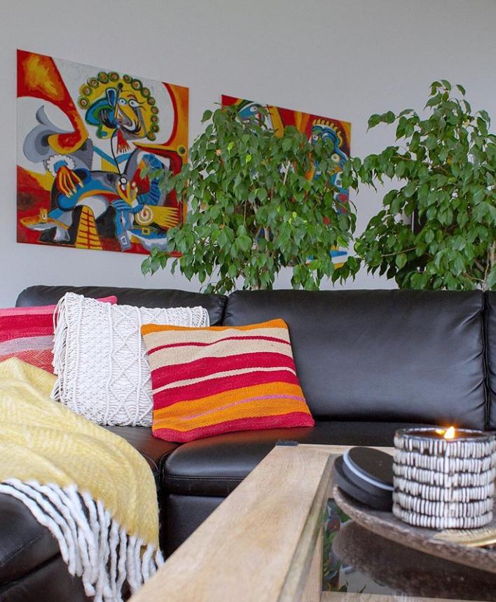 La Casa de Freja living room