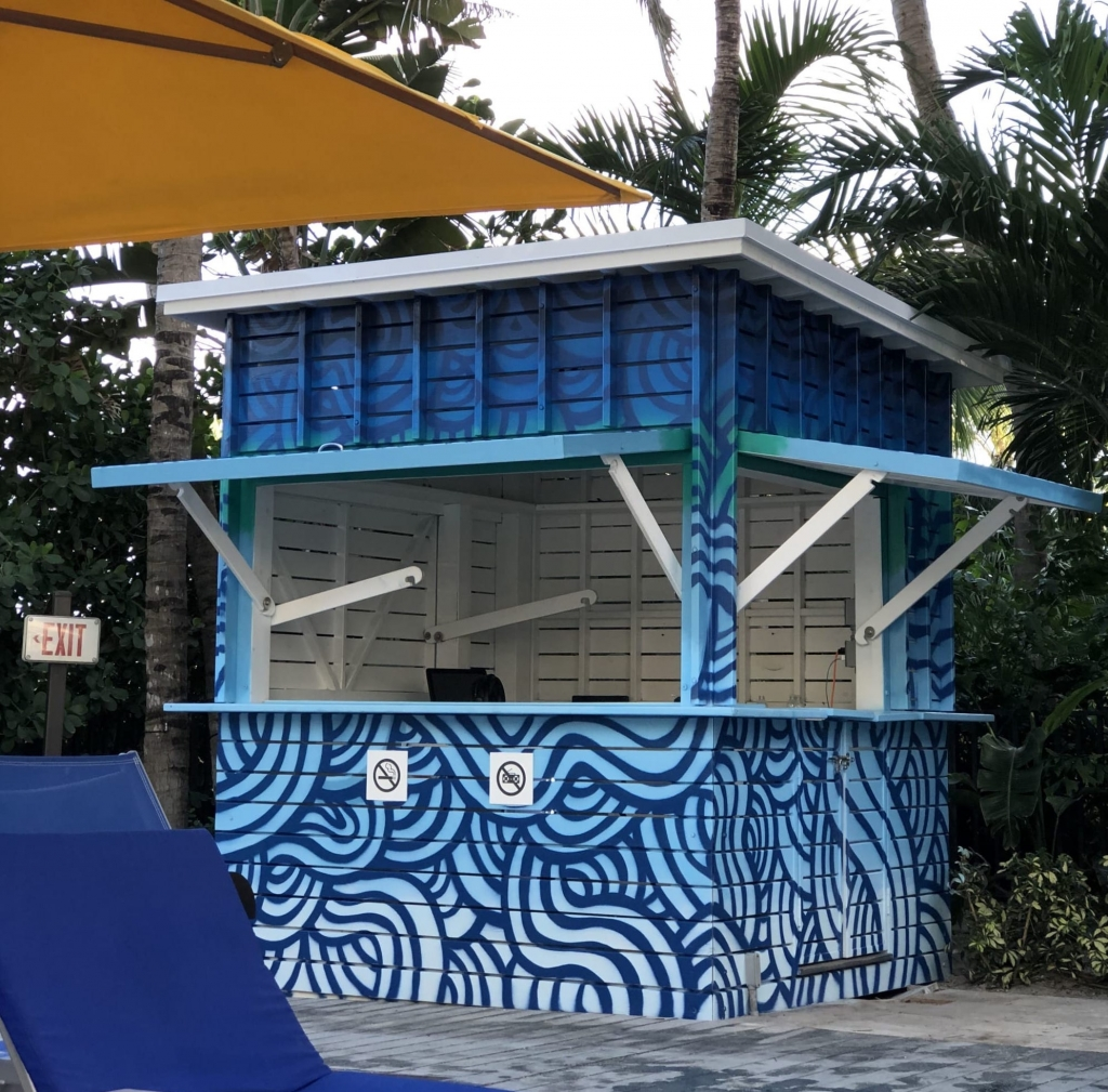 Wave Hut by Jorge-Miguel Rodriguez at Royal Palm South Beach Miami, a Tribute Portfolio Resort, Miami Beach, FL