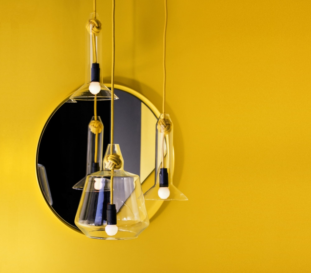 Search For Spaces and Creators Vitamin Small Knot Pendant Lamp by Vitamin.