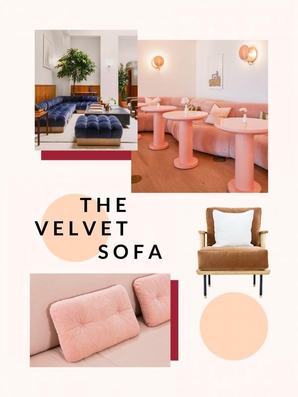 The Velvet Sofa
