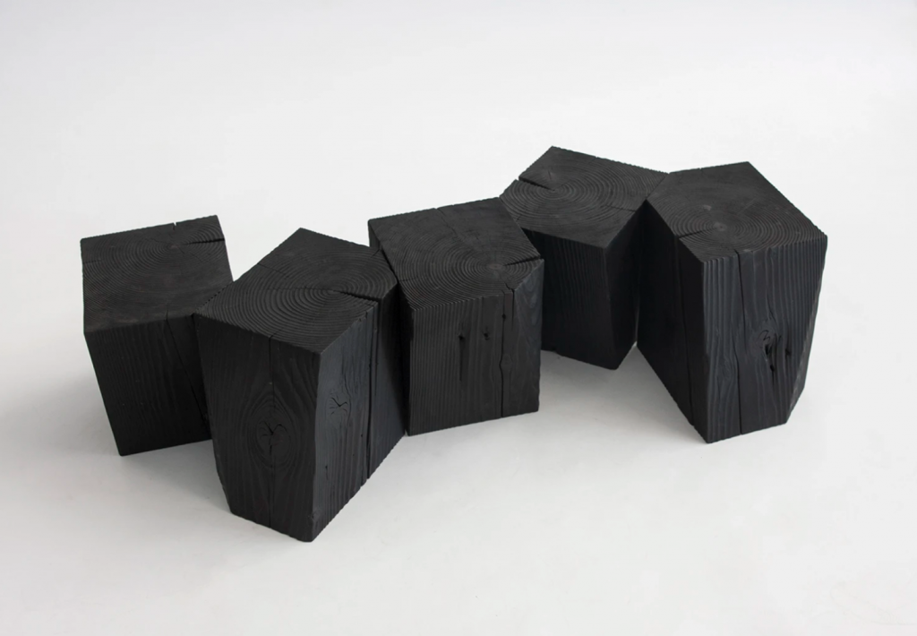 Charcoal Blocks by Yvonne Mouser