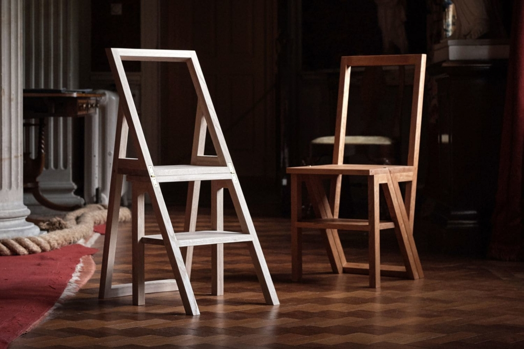 Iford Library Step Chair by CHARLIE CAFFYN FURNITURE