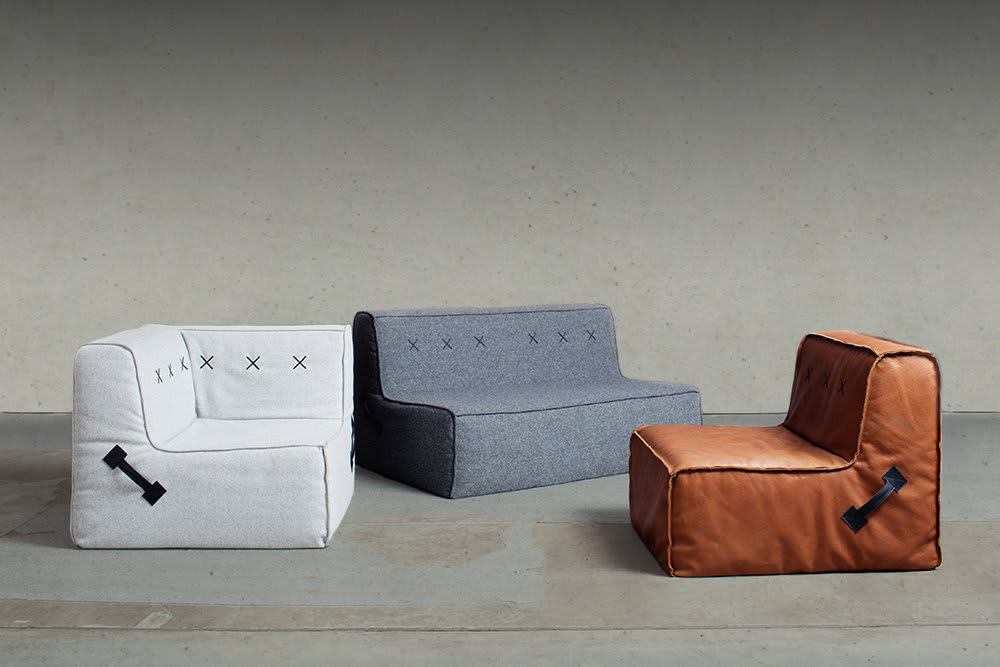 Quadrant Soft Sofa by Koskela