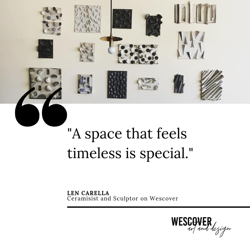 Quote By Len Carella, Ceramics on Wescover