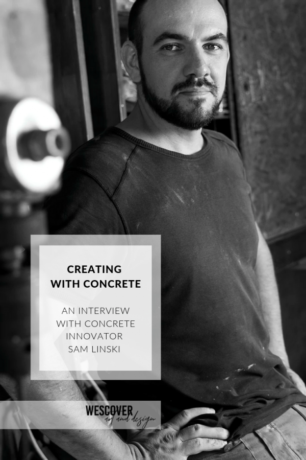concrete artist and designer sam linski