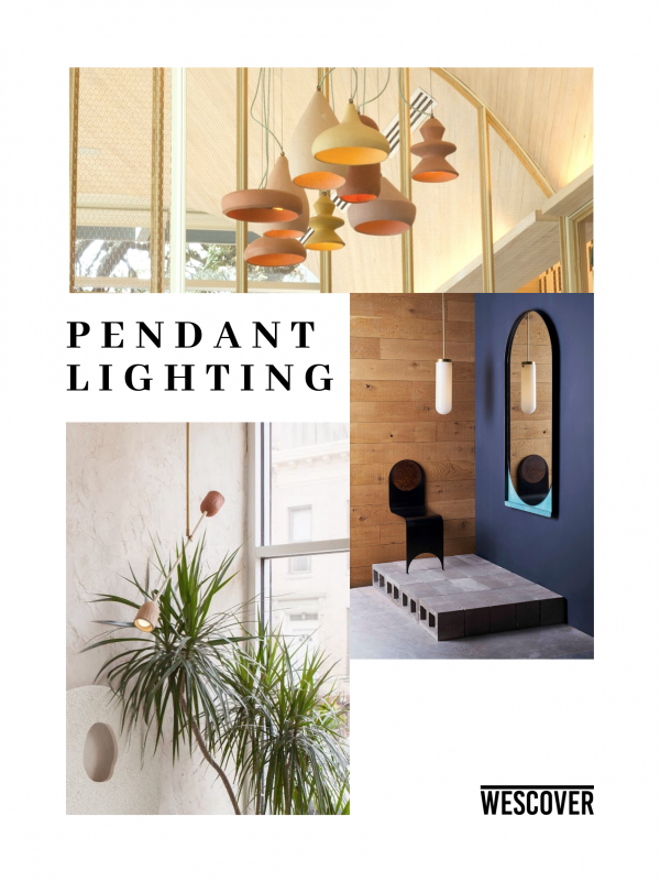 Pendant Lighting Moodboard