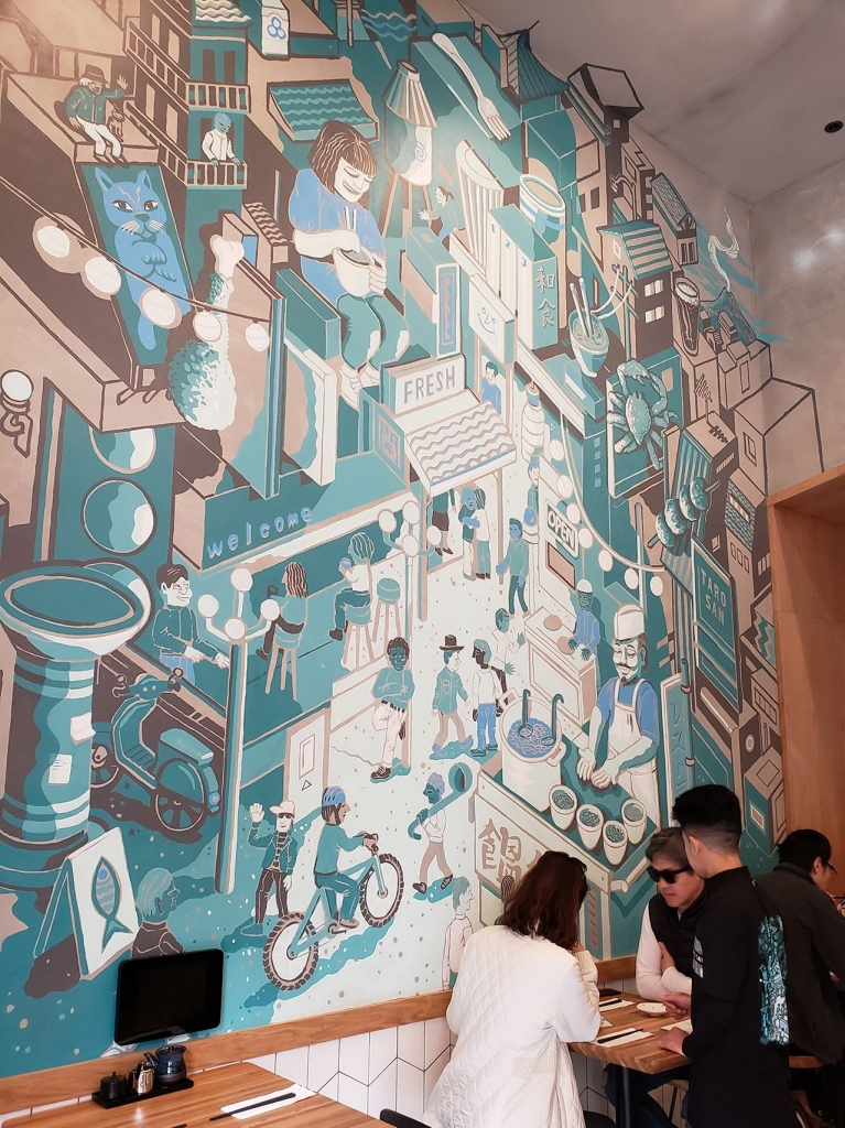 Mural on Google Lens