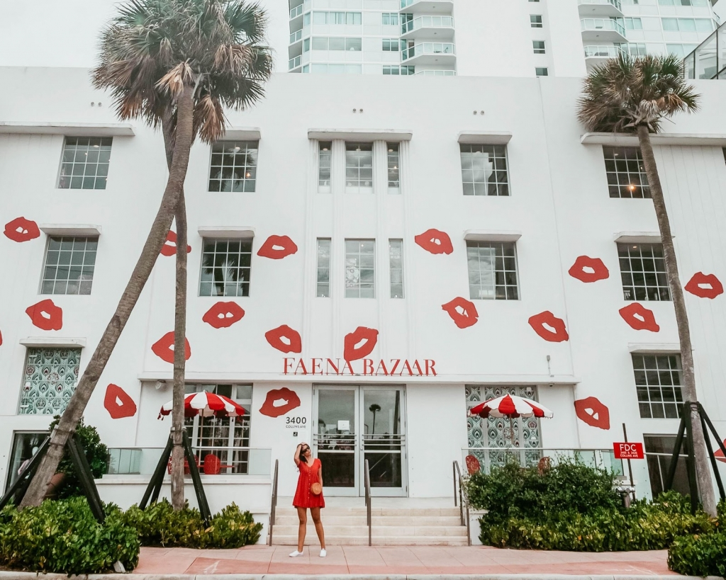 Faena Bazaar Facade by Roy France In Maimi, FL. Chrissy Koulouris