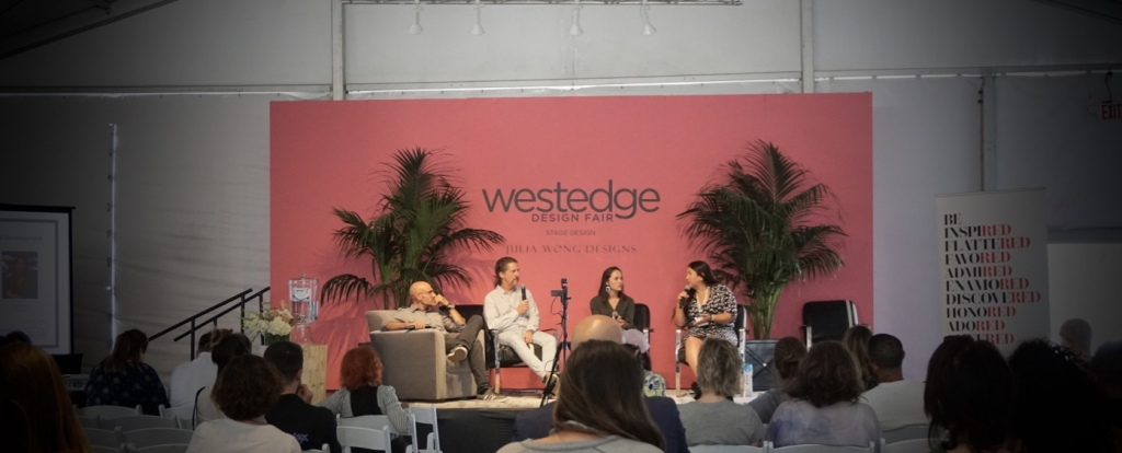 2019 WestEdge main stage. Convo x Design Pannel led by Josh Cooperman. Wescover
