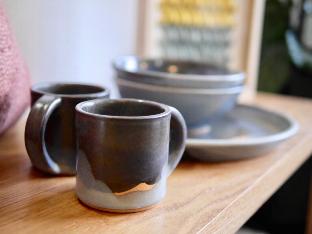 """12oz """"Starry Night"""" Mug by Sven Ceramics in Wescover's Gallery at West Coast Craft as seen on Wescover"""
