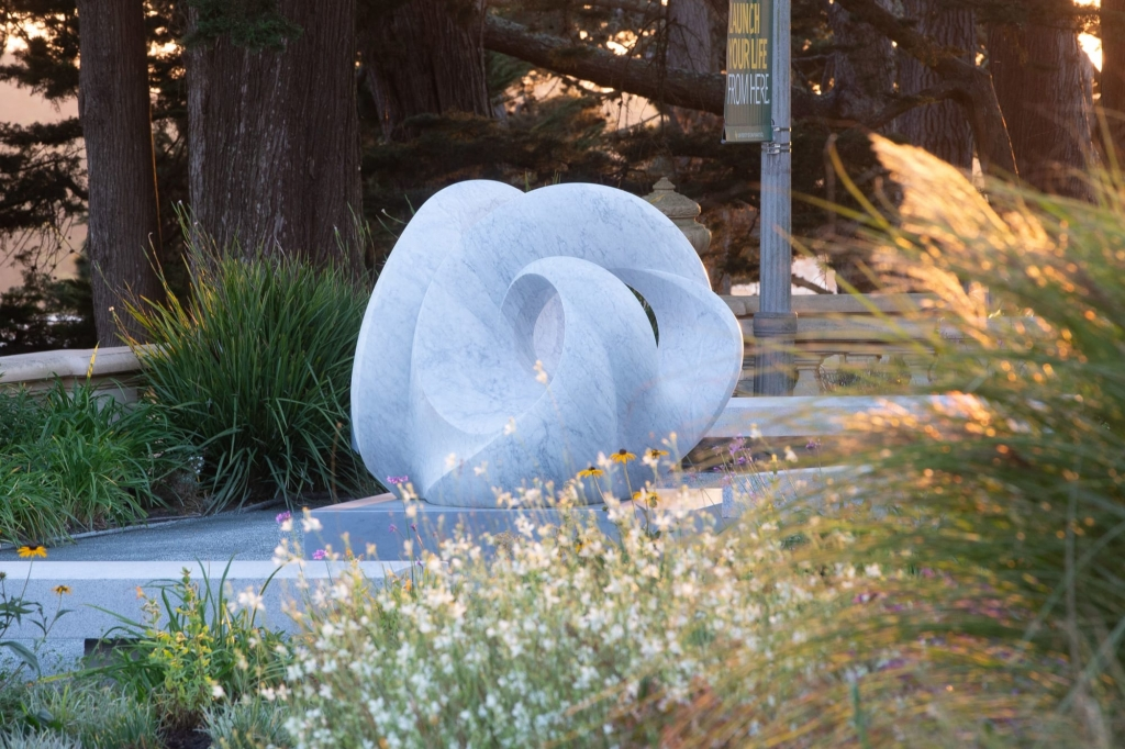 Tides by Yoko Kubrick located at USF Lone Mountain, San Francisco, CA as seen on Wescover.
