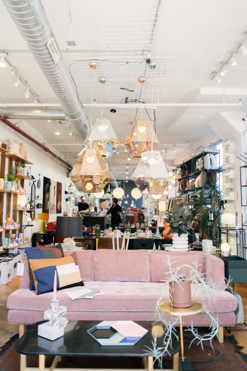 Cut Pendants by Tom Dixon at BEAM, Brooklyn, NY as seen on Wescover