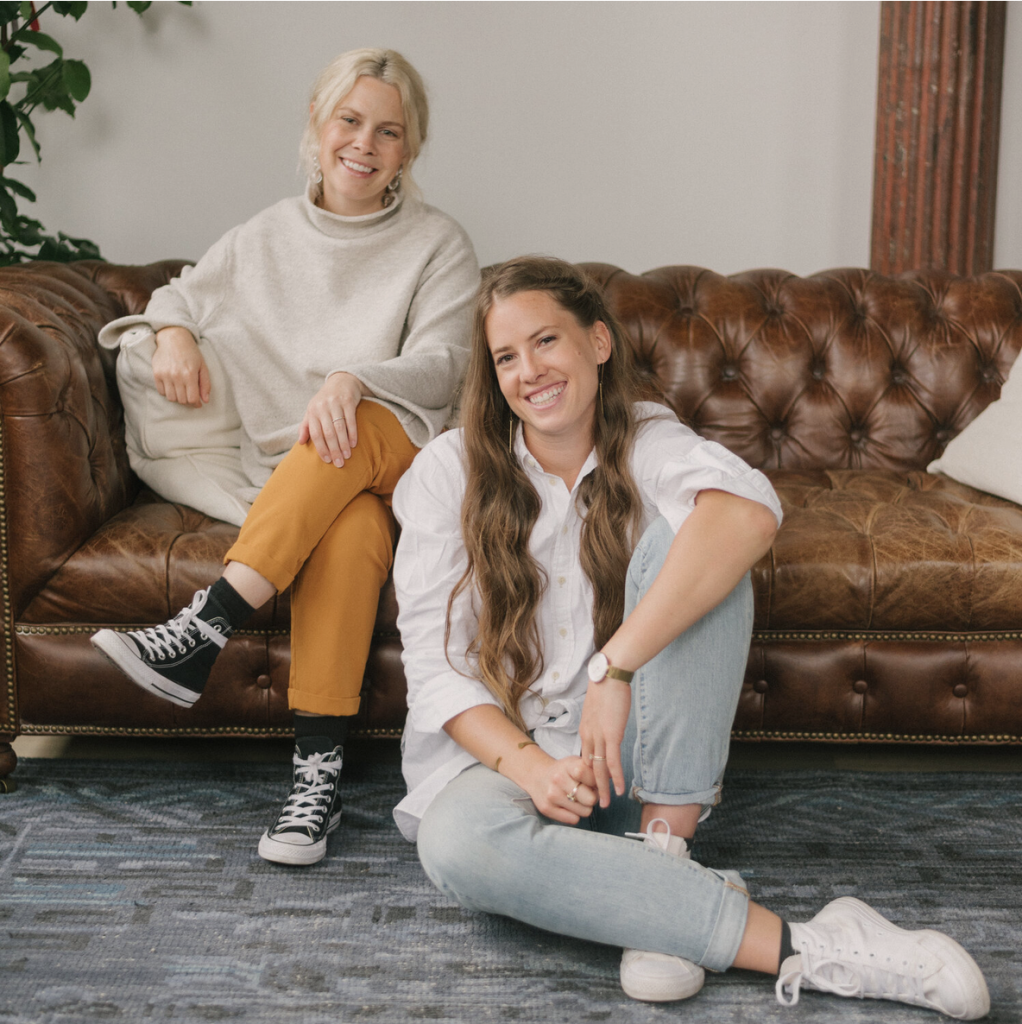 Ashley Coppins (right) and Chelsie Starley (left) of Often Studios as seen on wescover