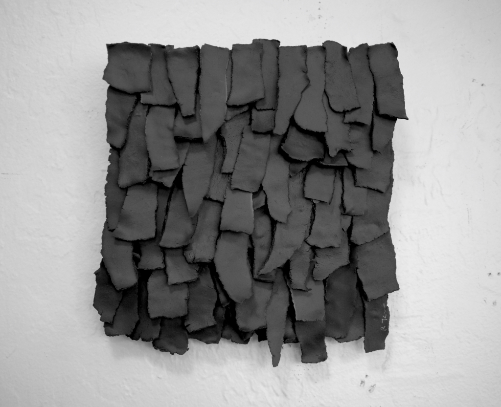 """""""Frayed: Charcoal"""" by ReCheng Tsang in Wescover's Gallery at West Coast Craft as seen on Wescover."""