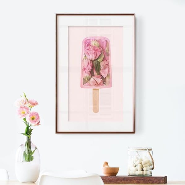 Floral Popcicle by Paul Fuentes located in London, UK as seen on Wescover.