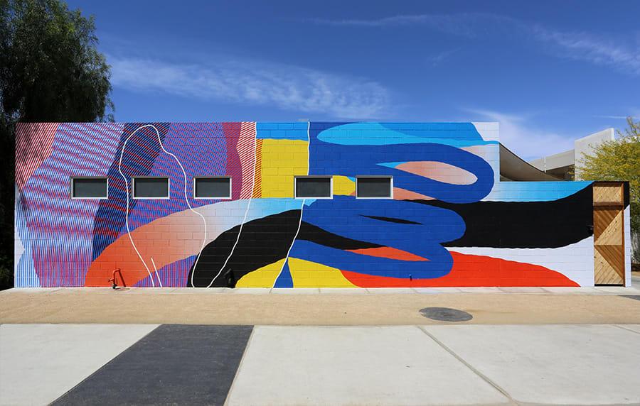 bauhaus mural