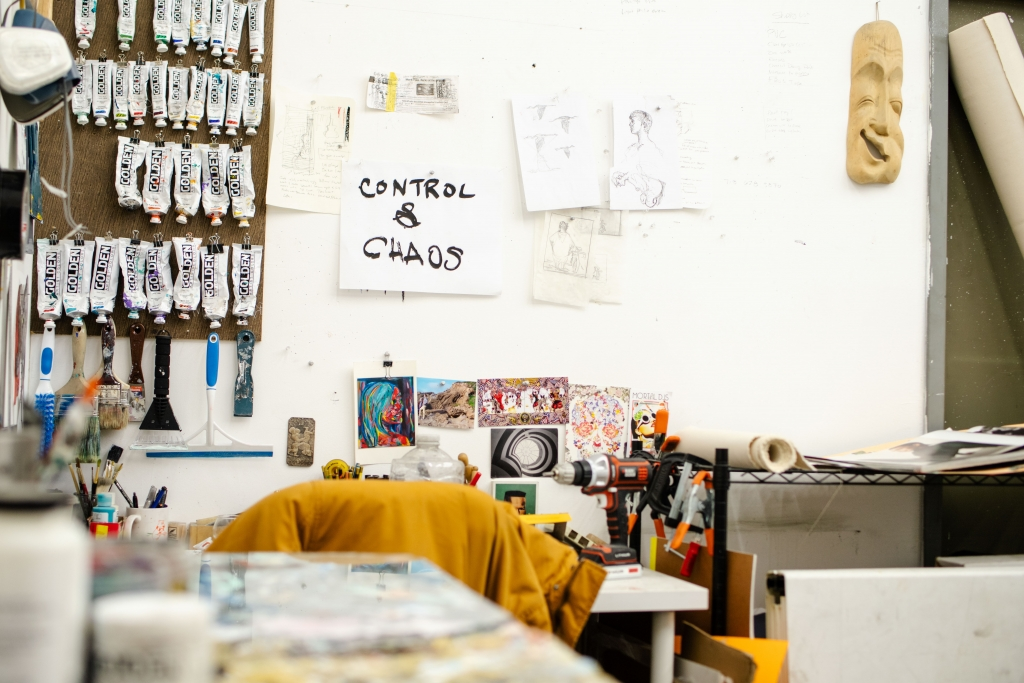 Grant McGrath's studio. Image by Bryan Cerda.