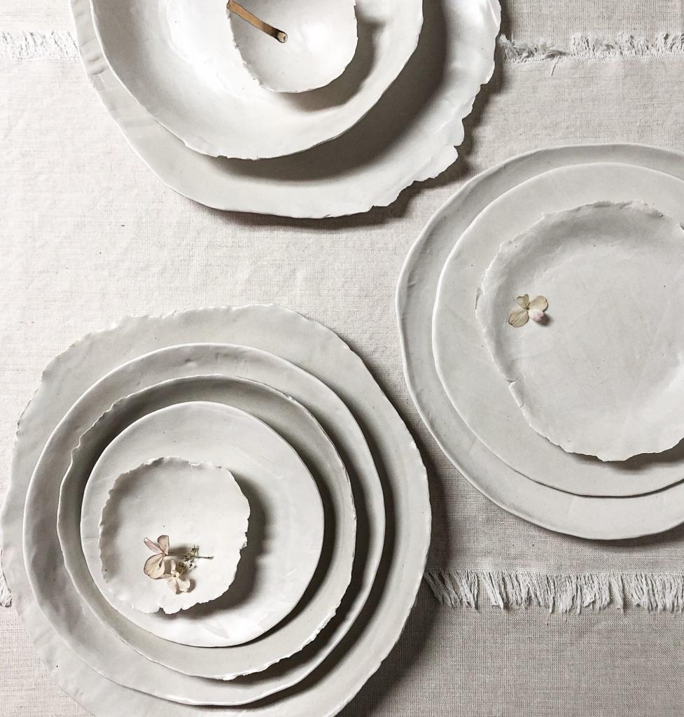 organic ceramic plates