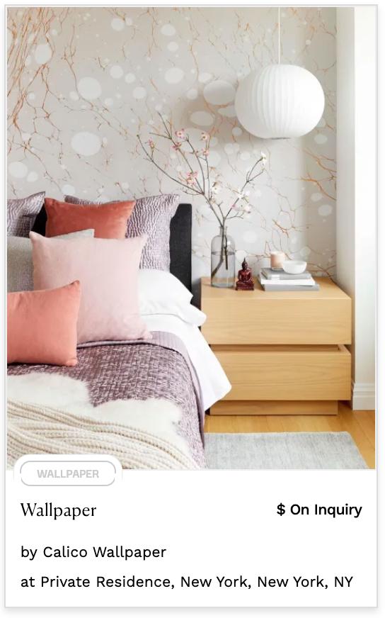 soft pastel wallpaper delicate branches white splotches