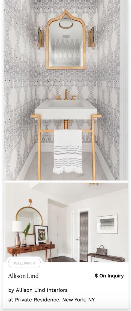White and Grey Pattern Pastel Wallpaper intricate geometric design