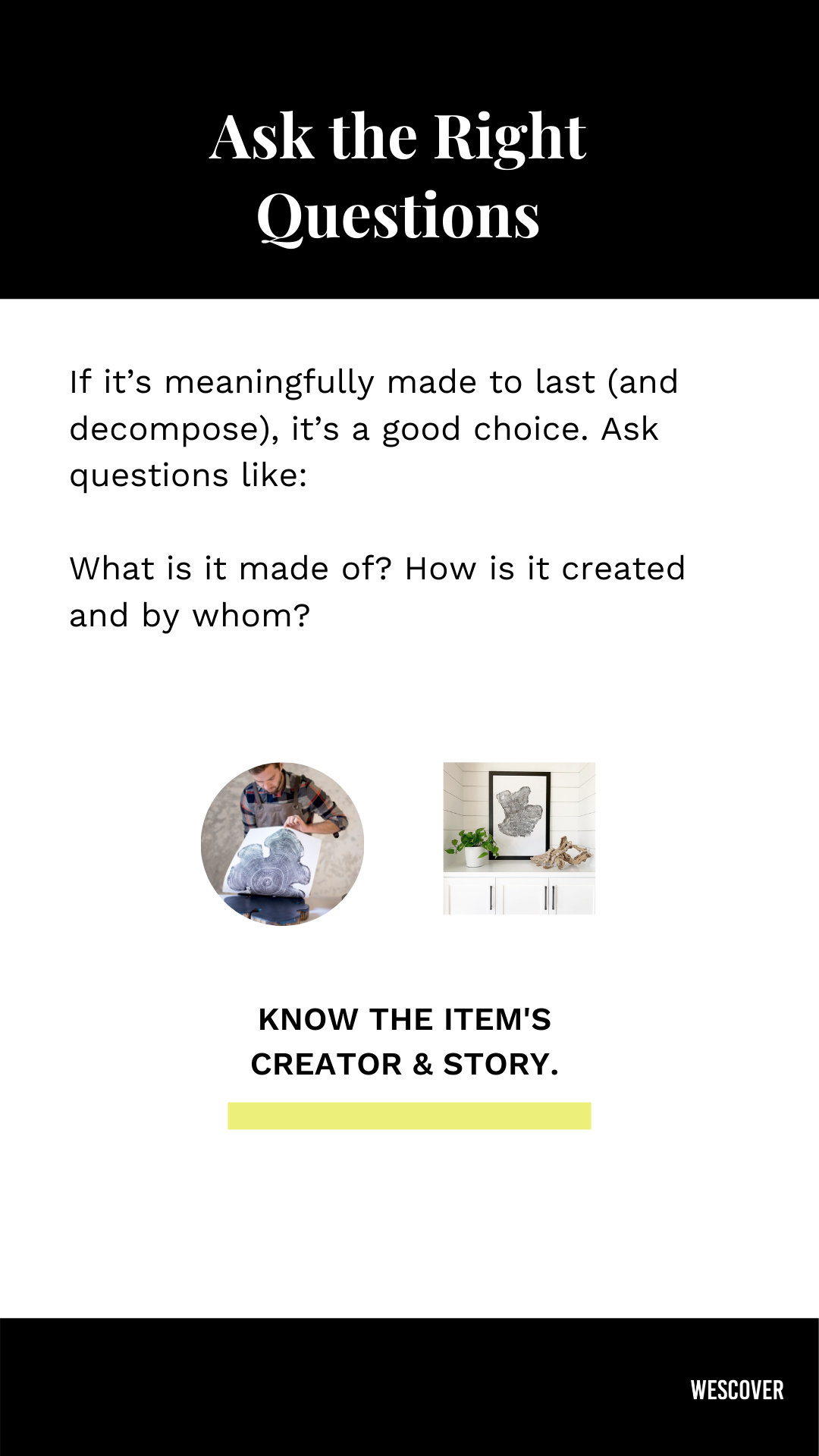 Slow design know product creator story