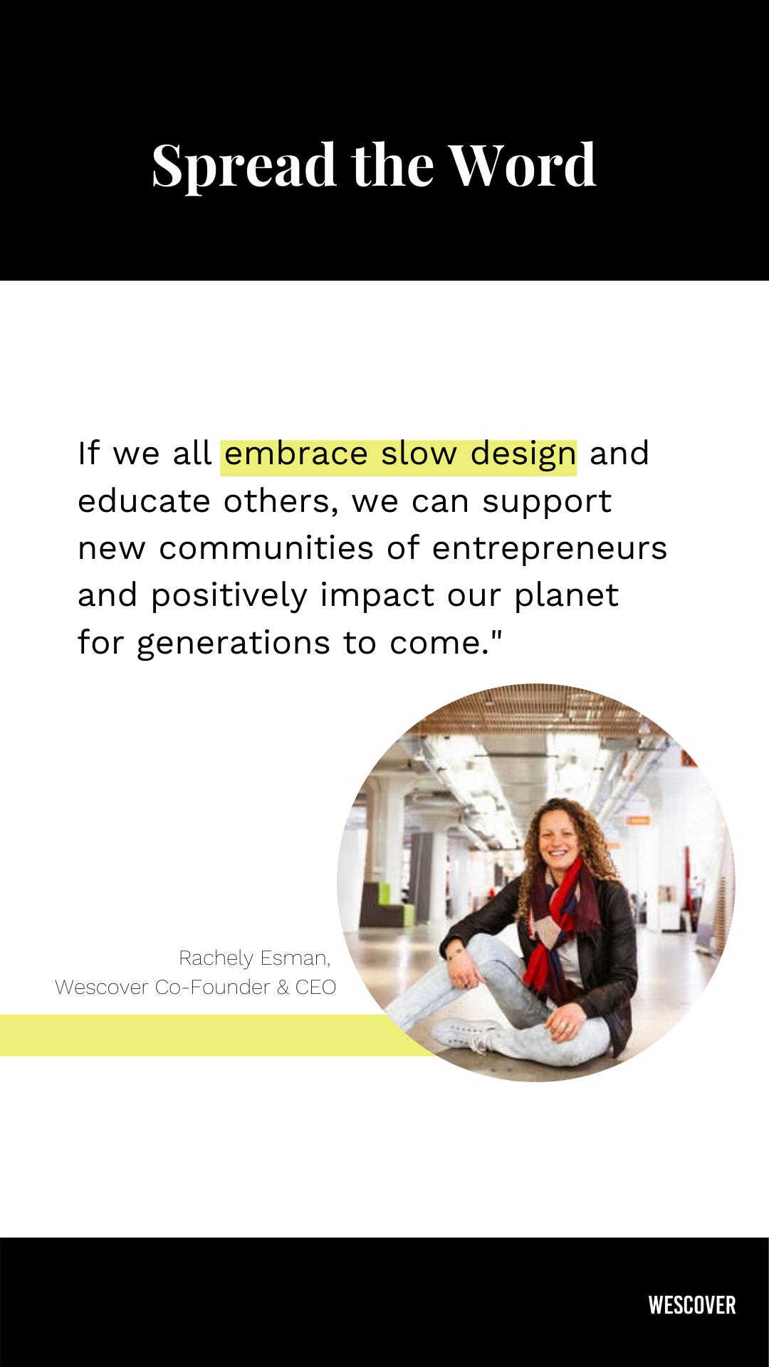 embrace slow design quote