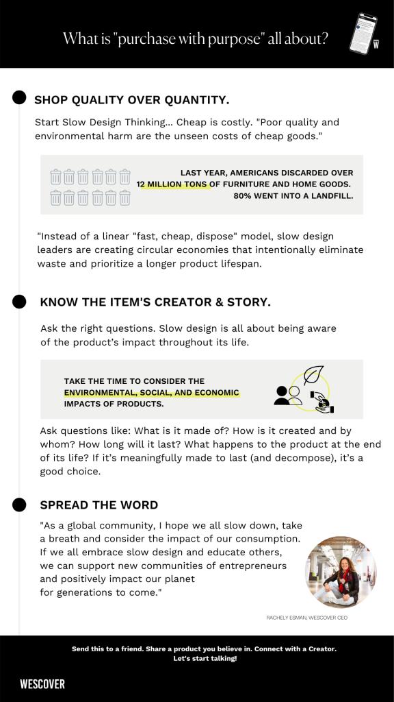 slow design infographic
